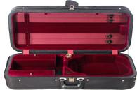 Bobelock Featherlite Oblong Suspension Viola Case - Velour - Wine