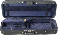 Bobelock Featherlite Oblong Adjustable Viola Case - Velour - Blue