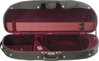 Bobelock Half Moon Suspension Viola Case - Velour - Wine