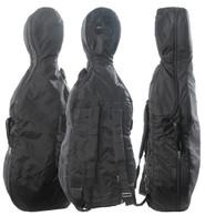 Bobelock Cello Travel Bag, No Wheel Opening - Black