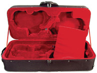 Core Quad Violin Case - Back-ordered till August 2017 (Black Velour Only)