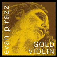 Evah Pirazzi Gold Strings Set - Ball-End -  4/4