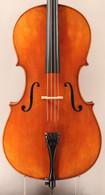 Princeton Violins Virtuoso Italian Style Cello 4/4 - Front