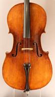 John Baptiste Schweizer Cello circa 1813 - Front