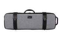 Grey Flannel Hightech Oblong Viola Case 5201GF
