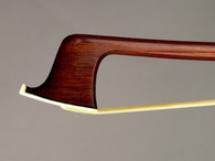 A. Carvahlo Pernambuco Nickel Mounted Ebony Violin Bow