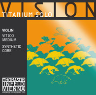 Vision Titanium Solo String Set for 4/4 Violin