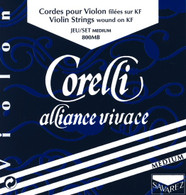Corelli Alliance Vivace Violin Strings Set