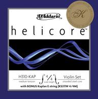 D'Addario Helicore Violin String Set