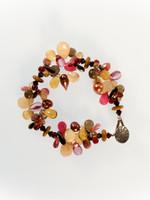 Autumn Mix Cluster Bracelet