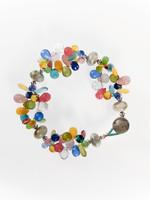 Pastel Mix Cluster Bracelet