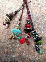 Adjustable Leather Pendants