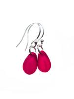 Tiny Teardrop Earrings (22 colors)