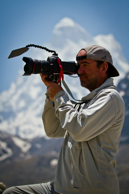 COMPACT lens shade, Jim Surette, Mt Everest