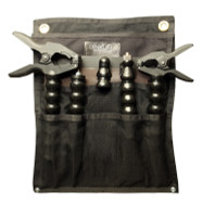 The PRO PACK comes in a handy canvas bag with eyebolts for easy hanging and storage.