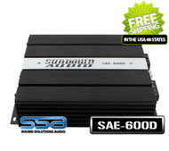 Sundown Audio SAE-600D Monoblock 600W RMS Digital Class D Amplifier