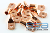 4 AWG Copper Lugs 10 Pack w/heat shrink - Sky High Car Audio
