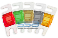 MINI ANL FUSE 5 PACK SKY HIGH CAR AUDIO