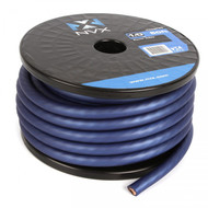 NVX XW0BL50 1/0 Gauge Power/Ground Cable (Blue Color 50 Feet)
