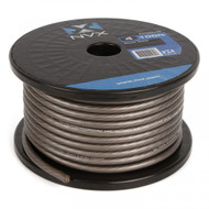 NVX XW4GR100 4-Gauge Power/Ground Cable (Gray Color 100 Feet)