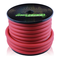 1/0 gauge OFC power cable - 50 foot spool - Red