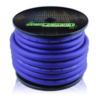 1/0 gauge CCA power cable - 50 foot spool - Blue