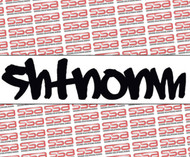 "SHTNONM 9"" Graffiti Decal"