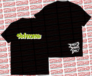 SHTNONM - Shadow Tee | Black / Green