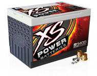 XS Power 12V BCI Group 34 AGM Starting Battery, Max Amps 3,300A  CA: 1,000A