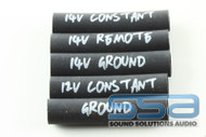 Remote 14/12 Gauge Heat Shrink (Pack of 25) - Sky High Car Audio