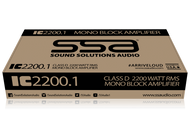 SSA IC2200.1 2200w Mono Block Amplifier