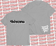 SHTNONM - Shadow Tee | Gray / White