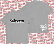 SHTNONM - Shadow Tee | Gray / White