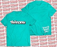 SHTNONM - Shadow Tee | Mint / White