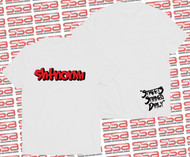 SHTNONM - Shadow Tee | White / Red