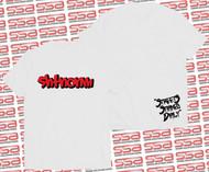 SHTNONM - Shadow Tee | White / Red