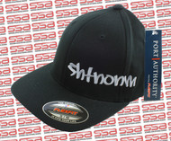 SHTNONM Black / White Flexfit Hat