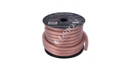 ORION XTR NTENSE WIRE SPOOL 100% OFC COPPER 0 GAUGE 50 FEET CLEAR SOFT RUBBER JACKET