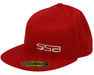 SSA Flat Brim Hat | Red