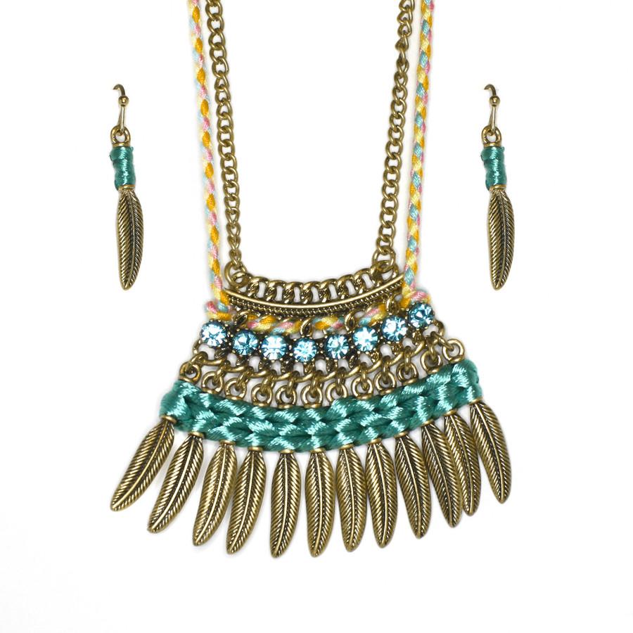 new york by southwest boho necklace set