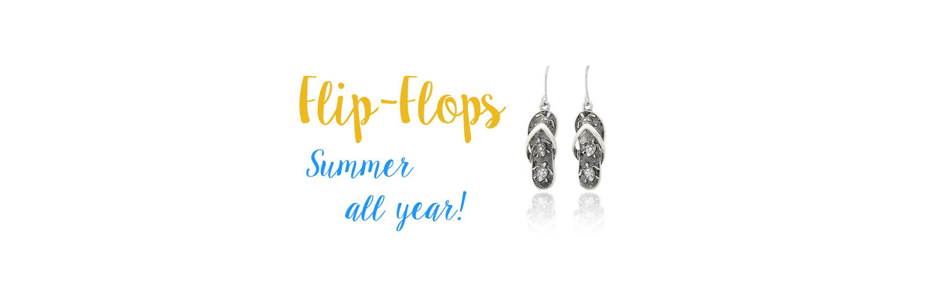 Flip-flop jewelry