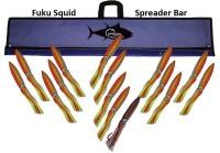 "FUKU SQUID BAR 48"" W/15 9"" SQUID"