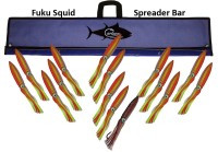 "FUKU SQUID BAR 36"" W/15 9"" SQUID"