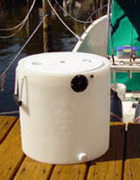 10 Gallon White Tank With KA500 KeepAlive®Oxygen Infusor ®