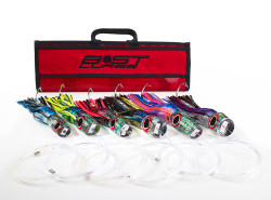Large Marlin Lure Pack by Bost - Rigged/Un-Rigged