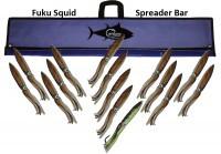 "FUKU SQUID BAR 48"" W/15 13"" SQUID"