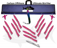 "ULTIMATE BIRD BAR 48"" W/14 13"" FUKU SQUID"