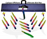 "ULTIMATE BIRD BAR 48"" W/15 12"" MACHINES"