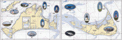 Placemat: Martha's Vineyard and Nantucket Placemat