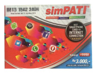 simPATI Indonesia SIM card